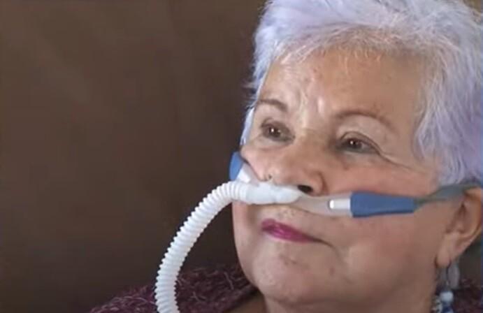 Yolanda, mujer que libró lucha por la eutanasia.