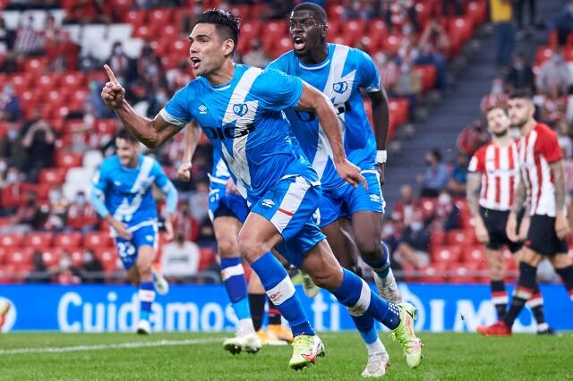 Gol de Radamel Falcao García con Rayo Vallecano, en la Liga de España