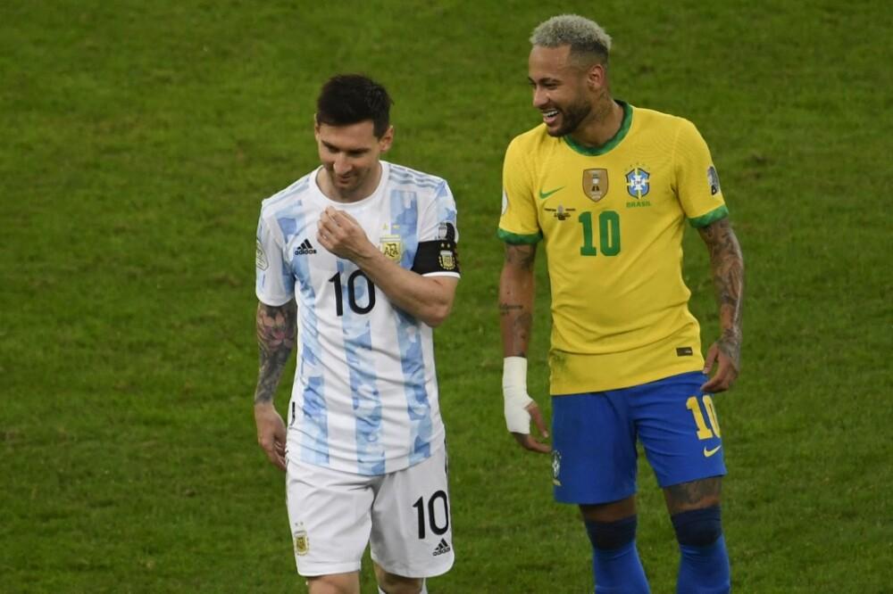 Lionel Messy y Neymar