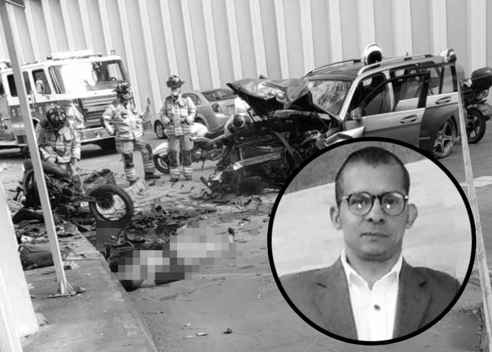 Accidente en el deprimido de la 94 - Héctor Zúñiga.jpg
