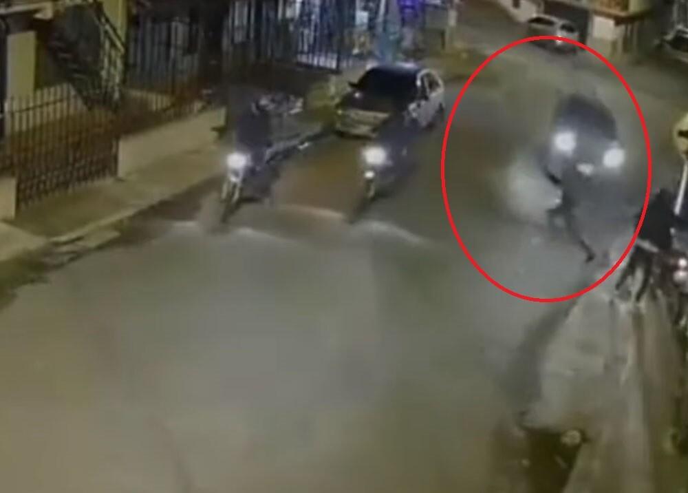 conductor que trato de atropellar a delicuente en el Cauca.jpg