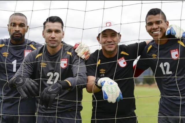 321558_Róbinson Zapata, Leandro Castellanos, Juan Carlos Quintero y Kevin Mier.