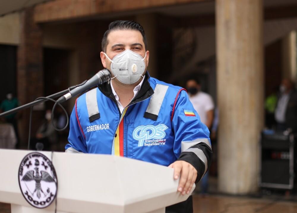 364757_Nicolás García, gobernador de Cundinamarca // Foto: Gobernación de Cundinamarca