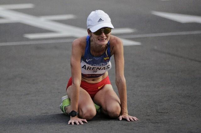 Sandra Lorena Arenas, en los Juegos Olímpicos