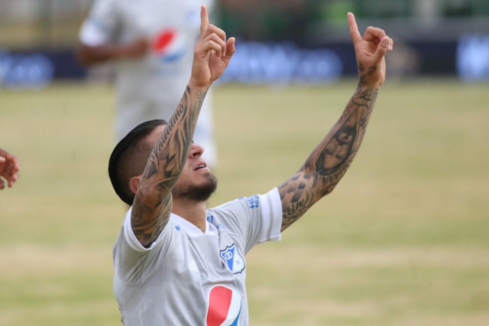 Cristian Arango, delantero de Millonarios