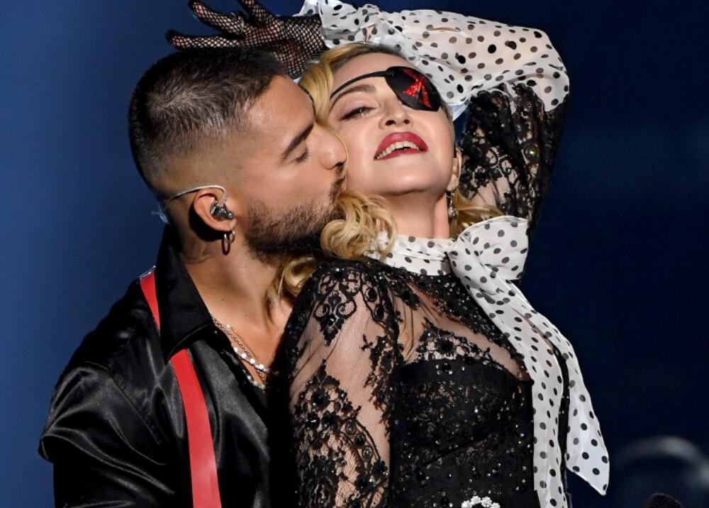 16013_La Kalle - Madonna y Maluma en los Billboard 2019 - Foto AFP