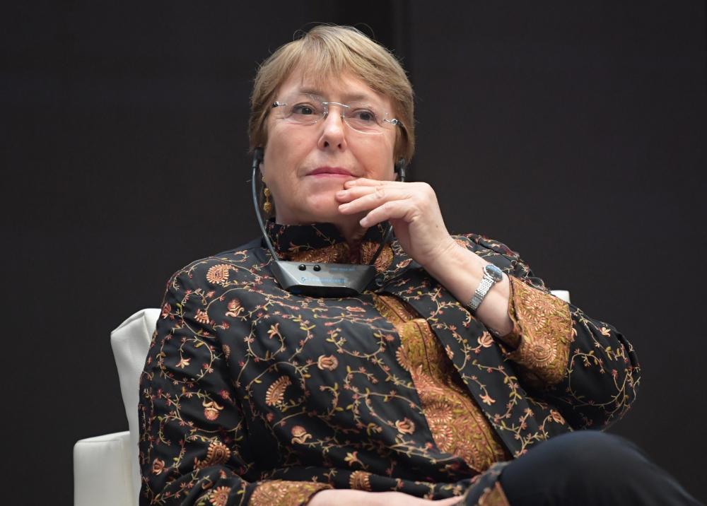 336872_BLU Radio // Michelle Bachelet // AFP