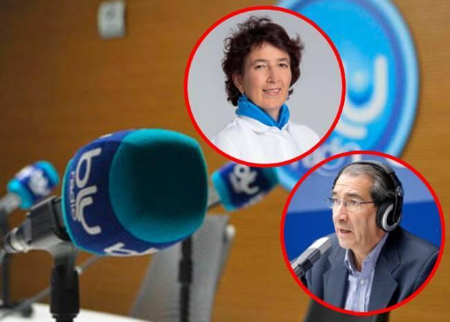 Panelistas de Mañanas BLU: Luz María Sierra y Aurelio Suárez