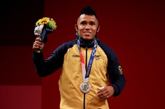 Luis Javier Mosquera, en los Juegos Olímpicos de Tokio 2020