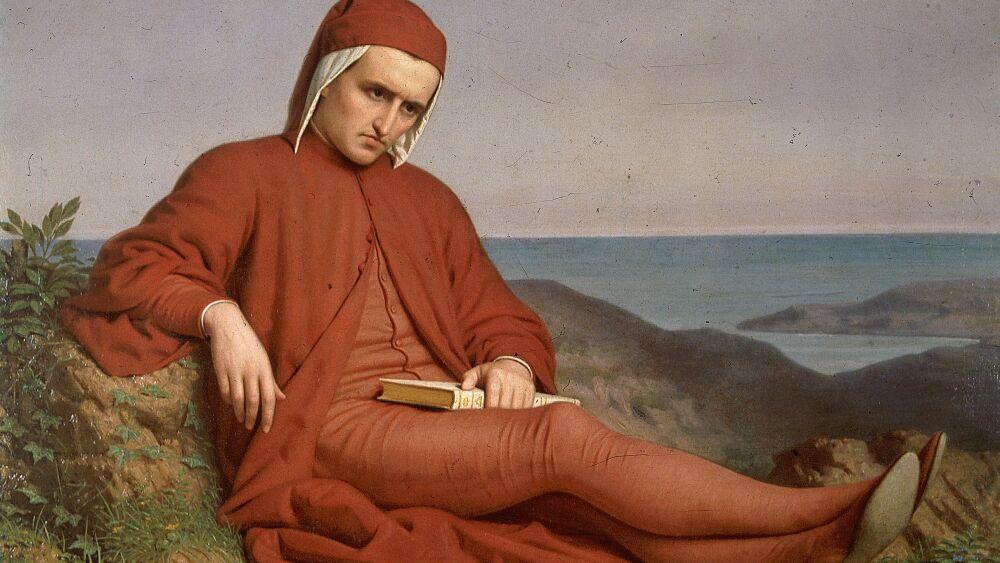 """""""Dante en el exilio""""."""