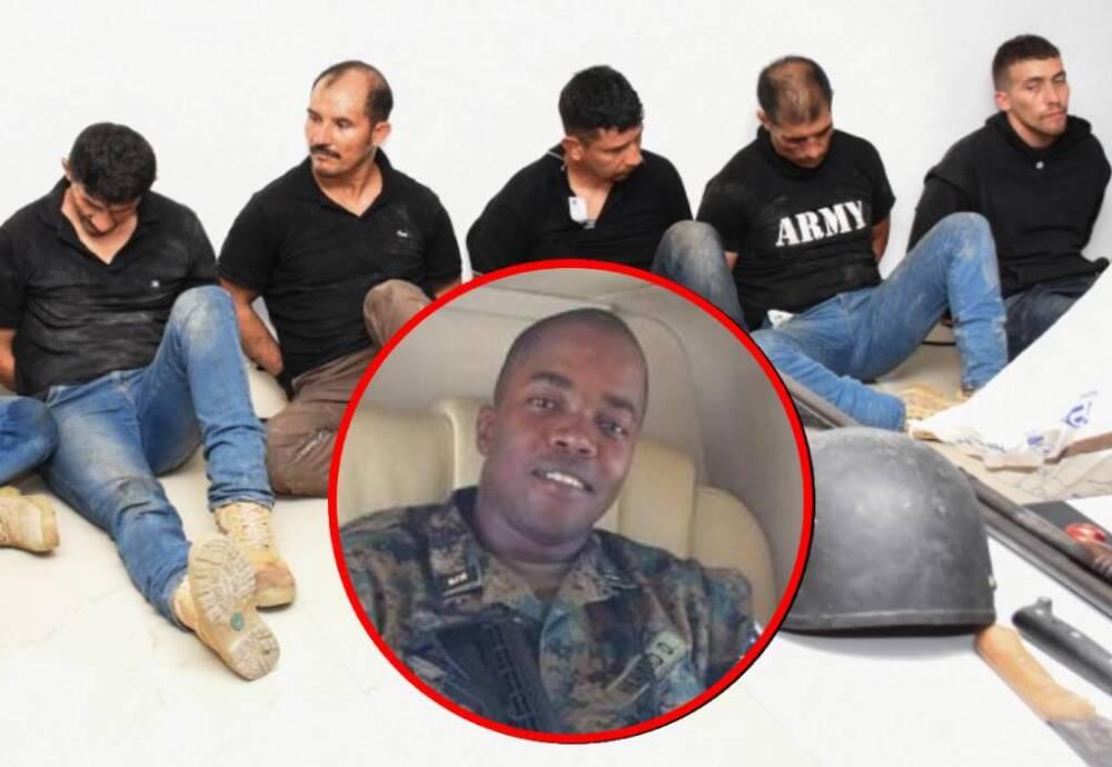 Dimitri Hérard - supuestos mercenarios colombianos capturados en Haití