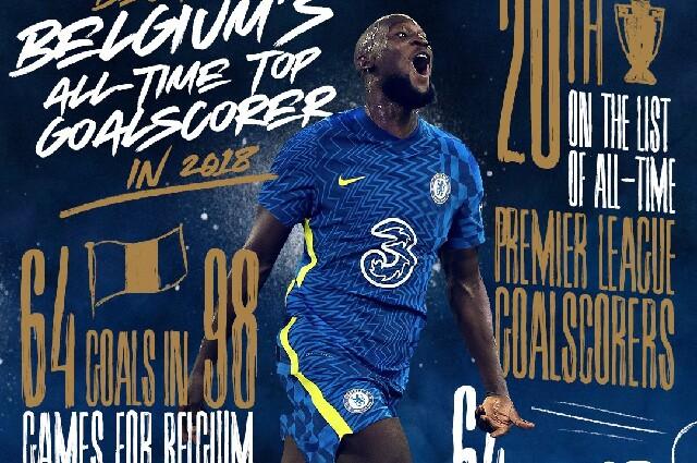 Romelu Lukaku, en el Chelsea