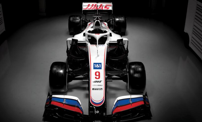 Haas presentó su monoplaza para la temporada 2021.