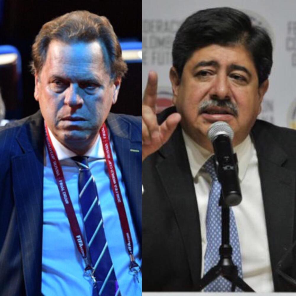 370117_Ramón Jesurún y Luis Bedoya. Foto: AFP y El Espectador