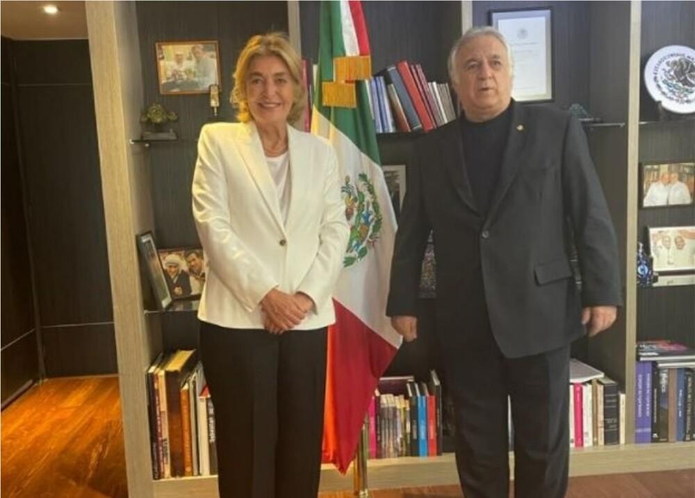 Embajadora Patricia Cárdenas se reunió con autoridades mexicanas Foto CancilleriaCol.jpg