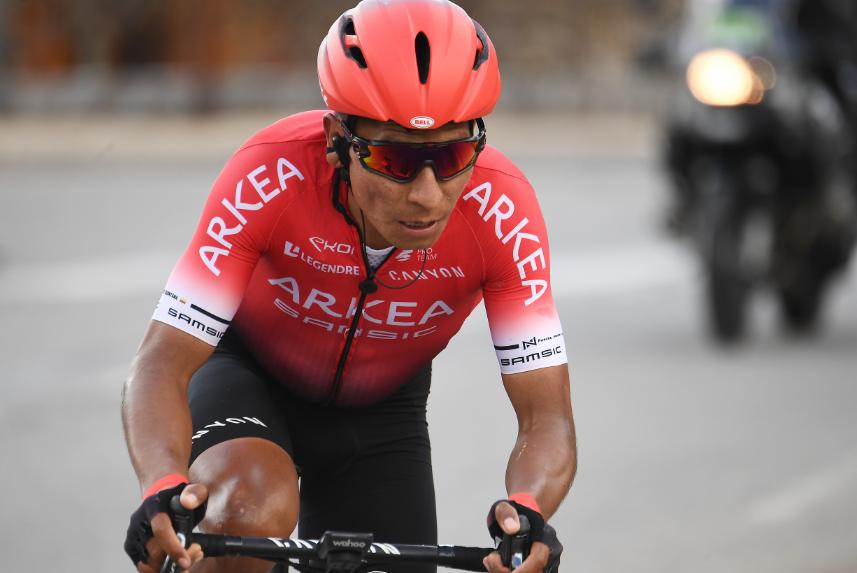 Nairo Quintana y su equipo, Arkea, no fueron invitados al Giro de Italia 2021.
