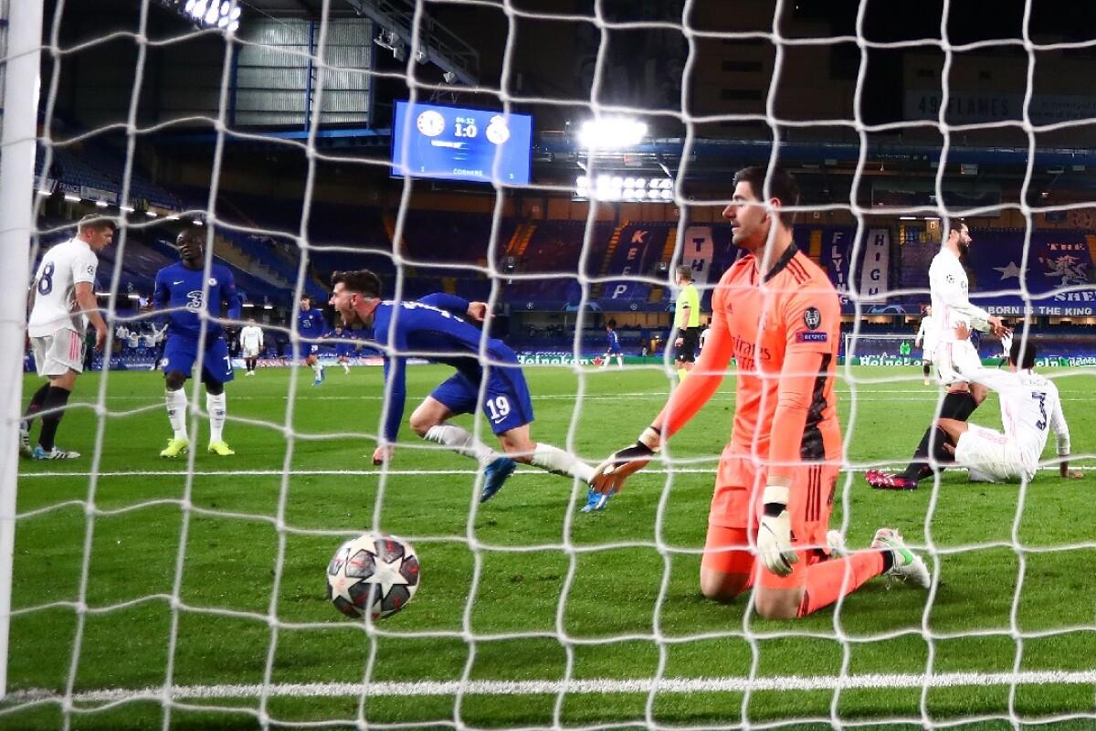 Vea el gol de Mason Mount hoy Chelsea vs. Real Madrid, en la Champions League