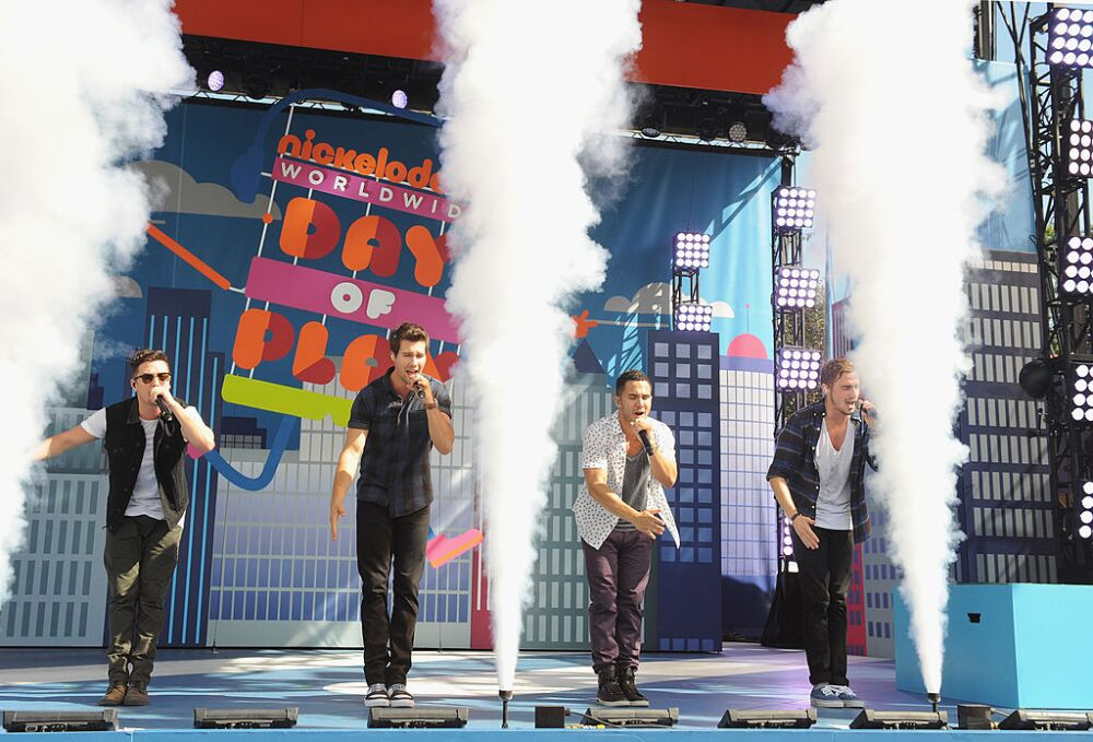 Nickelodeon's 10th Annual Worldwide Day of Play: Big Time Rush Performance