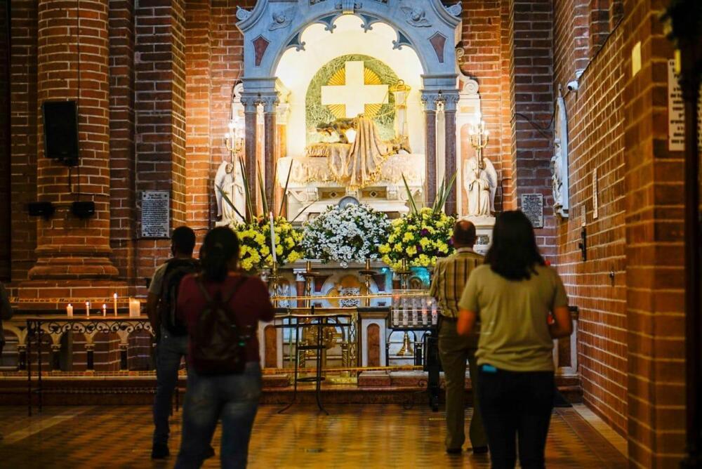 368479_Reabren catedral de Girardota en medio de la pandemia // Foto: Alcaldía de Girardota