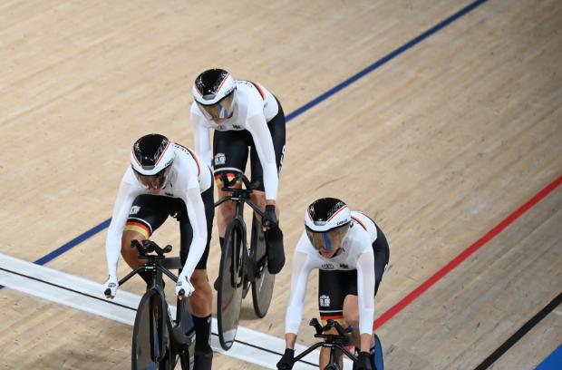 Empezó el ciclismo de pista de los Juegos Olímpicos Tokio 2020.