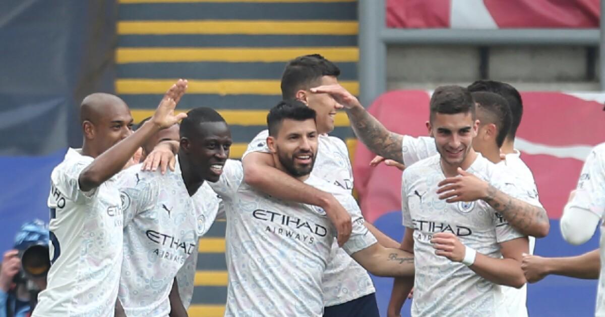 Manchester City se acerca al título de la Premier League: venció 2-0 al Crystal Palace