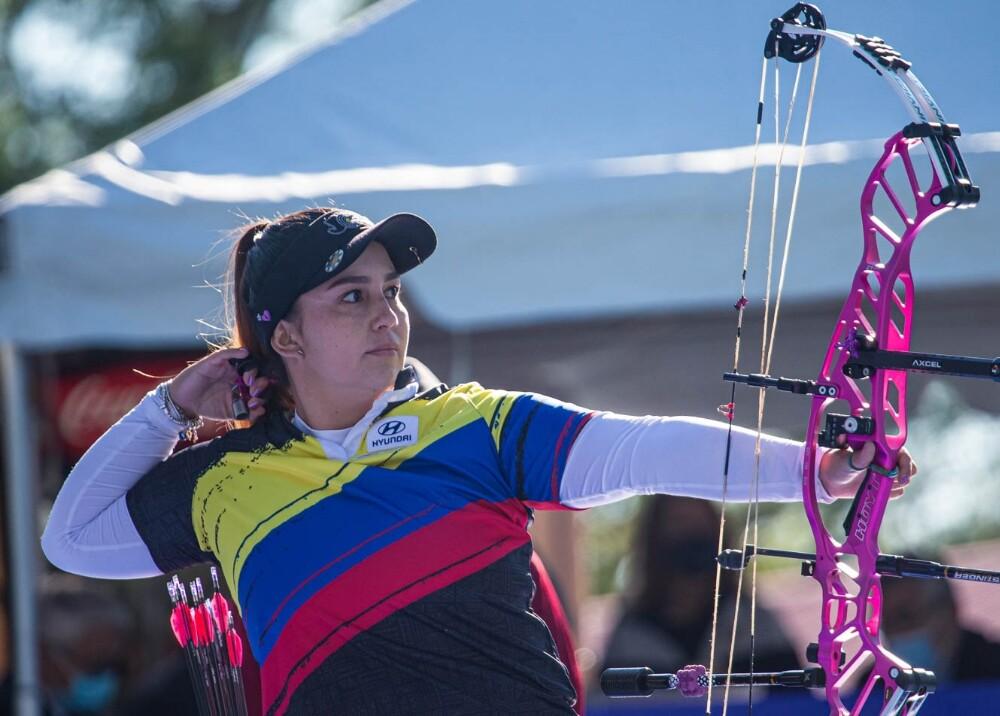 Sara López ganó su tercer oro en el Mundial de Tiro con Arco Foto worldarchery.jpg