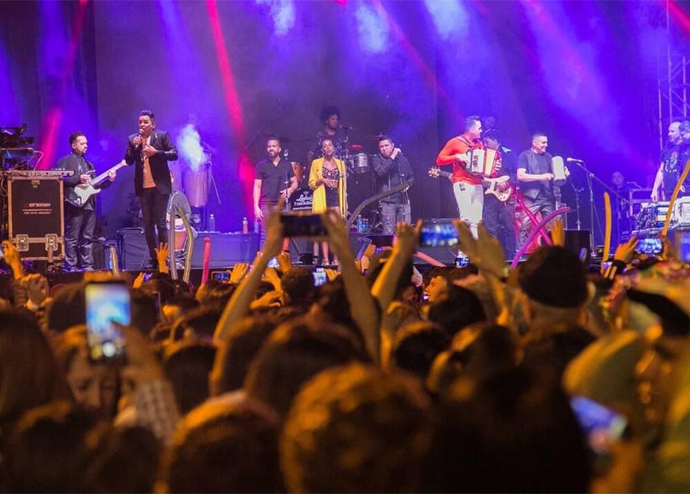 345911_BLU Radio. Jorge Celedón en las fiestas de Caldas / Foto: Alcaldía de Caldas
