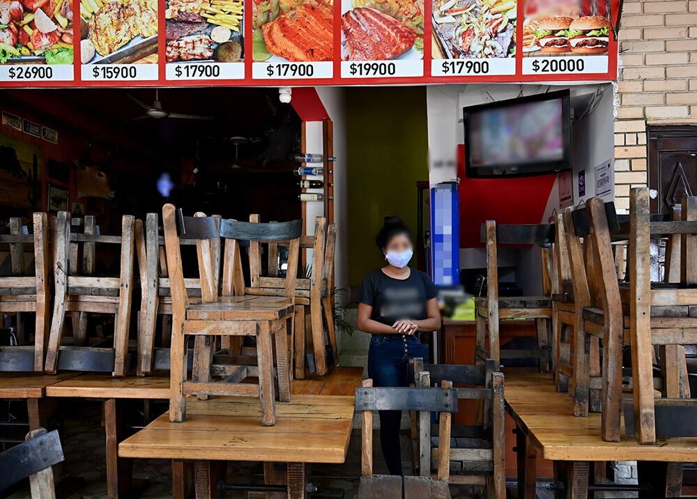 365235_Restaurantes en crisis por coronavirus // Foto: AFP, imagen de referencia