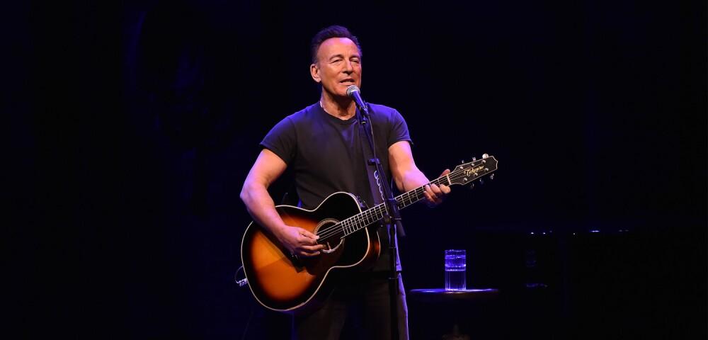 Bruce Springsteen, una de as figuras clave de la música estadounidense.