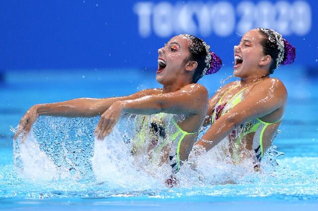 Estefanía Álvarez y Mónica Arango en los Juegos Olímpicos de Tokio 2020