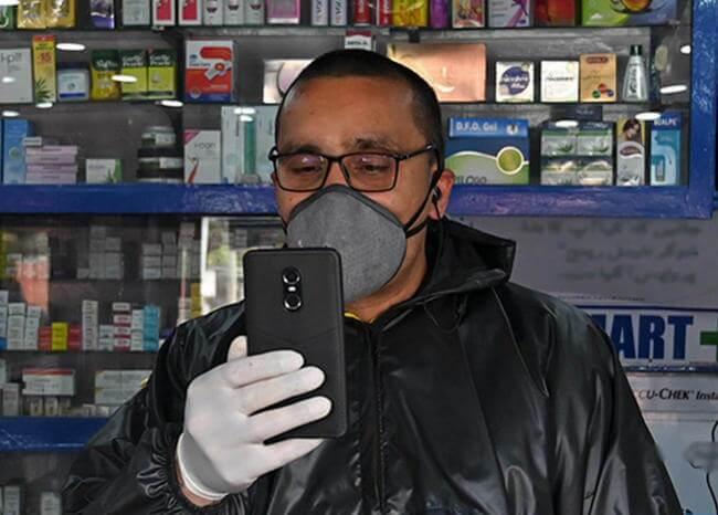 Este es el formulario de Bogotá Cuidadora para que reporte su salud