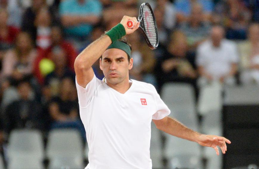 Roger Federer se alista para disputar Roland Garros.