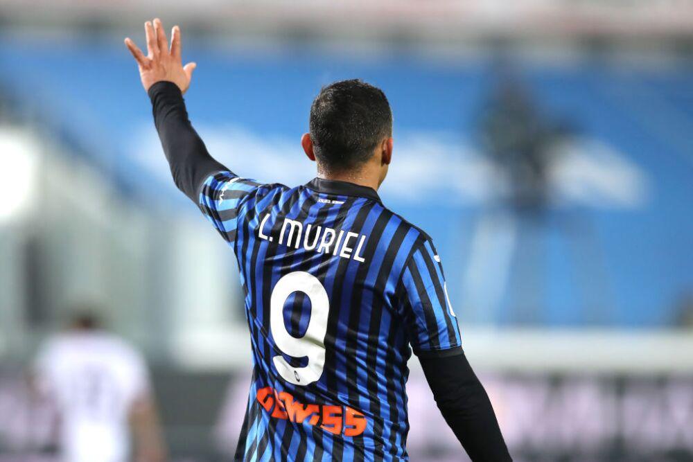 Luis Muriel - Atalanta BC v Cagliari Calcio - Coppa Italia