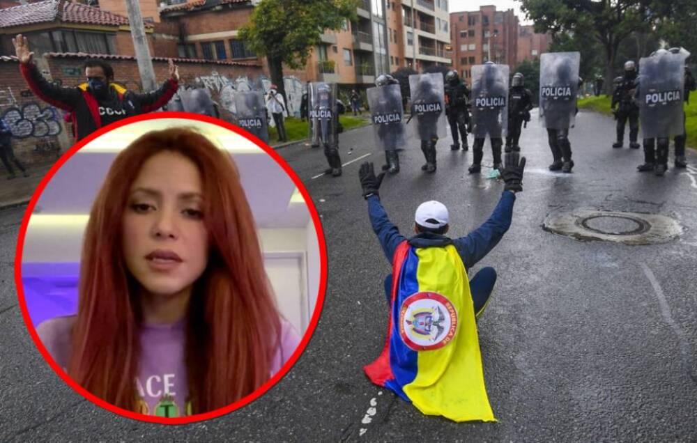 Shakira rompe el silencio sobre protestas