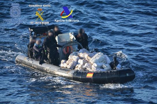 Incautan tres toneladas de cocaína en España