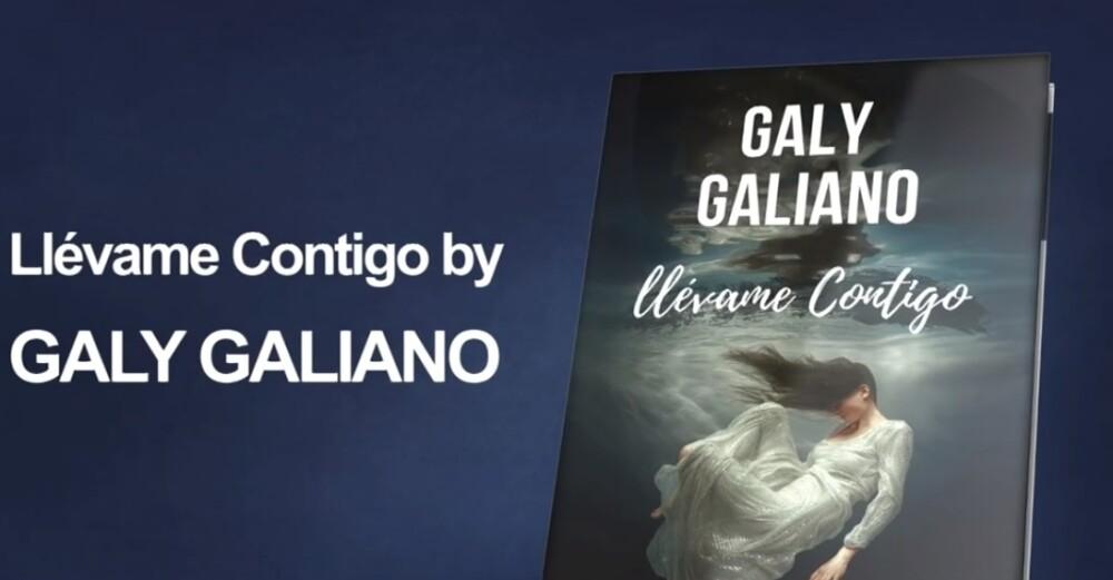 Galy Galiano, de la música al mundo literario con su libro 'Llévame contigo'