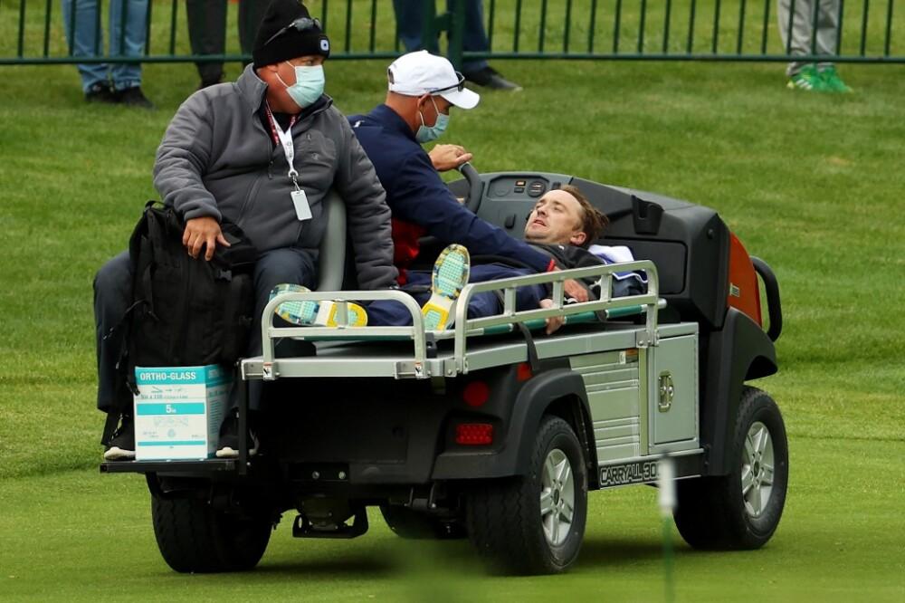 Tom Felton sufrió un desmayo durante un torneo de golf de celebridades