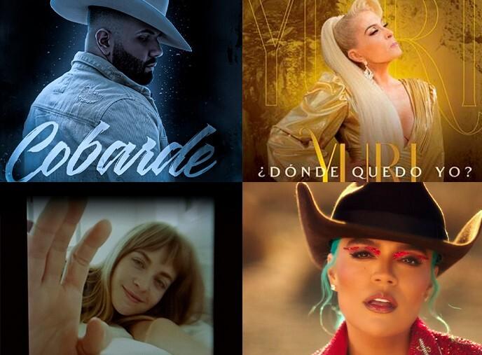 Amor y desamor en los lanzamientos musicales de la semana, ¡escúchalos!