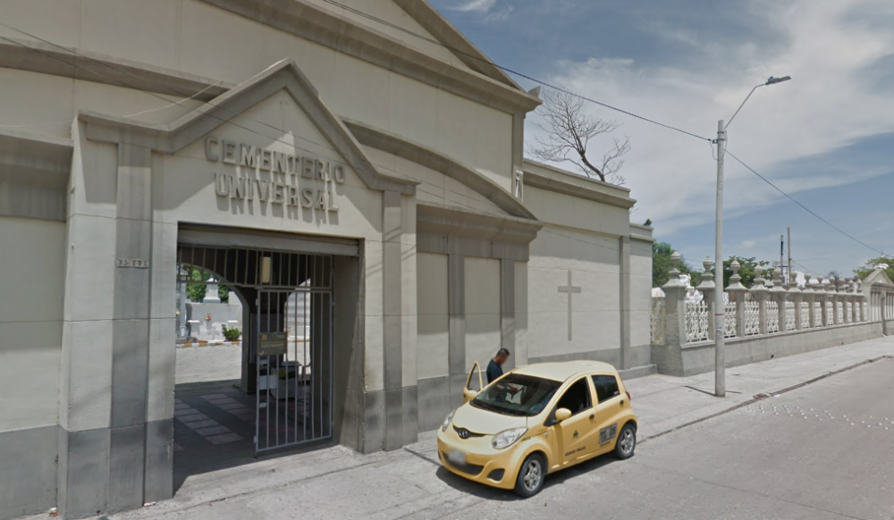 371160_BLU Radio // Cementerio Universal Barranquilla // Foto: Google Maps