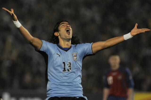 333518_Sebastián Abreu, exdelantero de la selección uruguaya