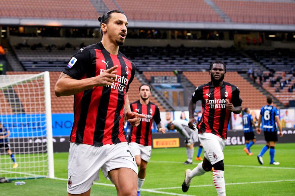 Gol Zlatan Ibrahimovic, Inter vs Milan