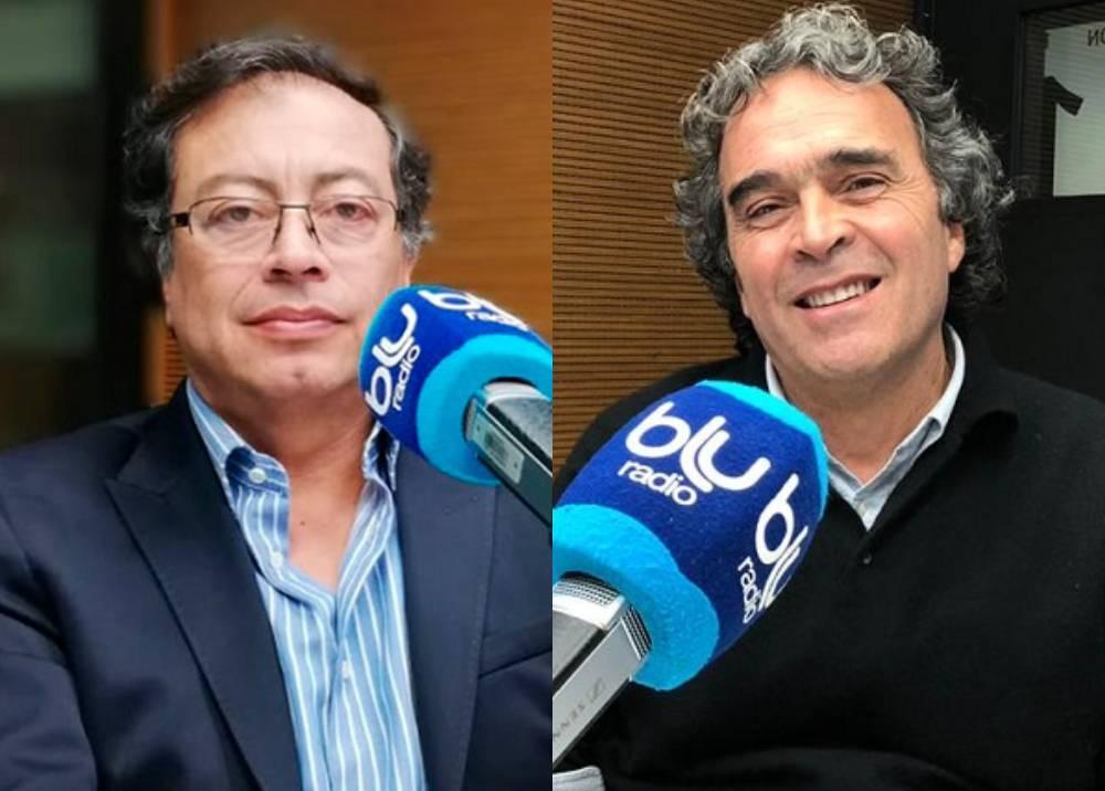 Gustavo Petro - Sergio Fajardo