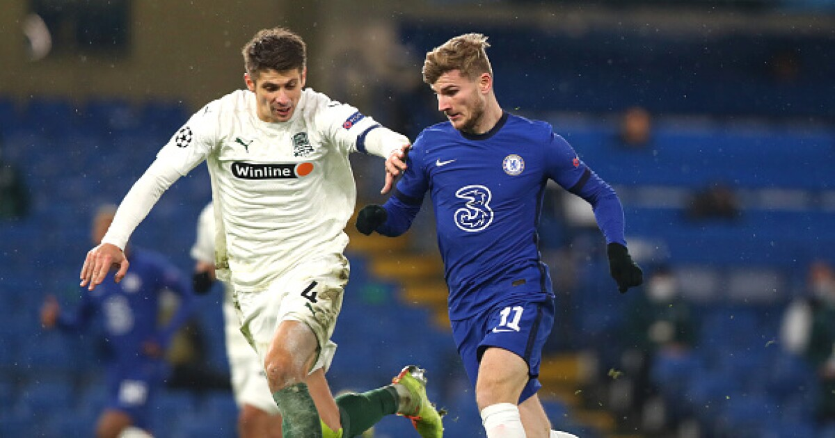Champions League: Chelsea no pudo con Krasnodar y empató 1-1, en Stamford Bridge