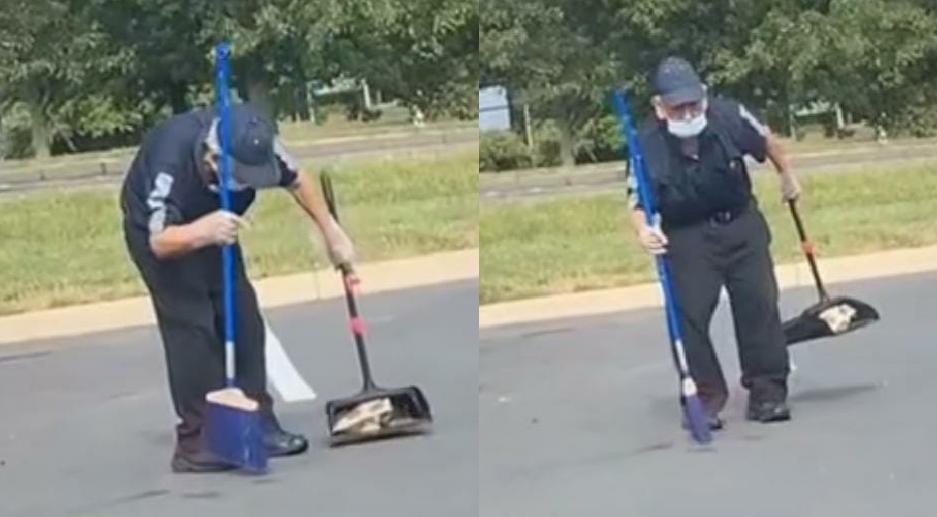 Abuelito limpiador