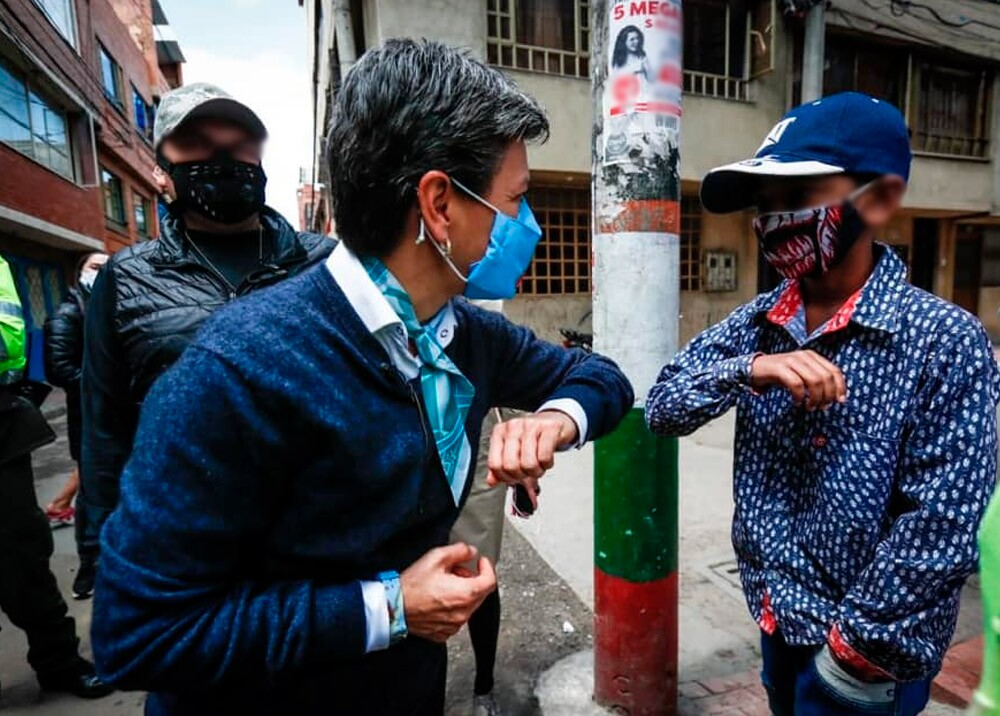 373637_Claudia López // Foto: Facebook Alcaldía de Bogotá