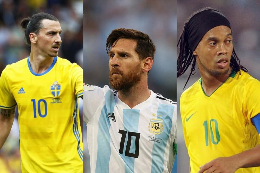 Zlatan - Messi - Dinho