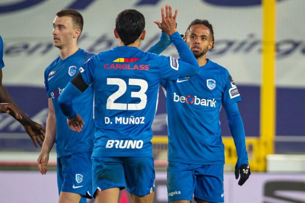 Daniel Muñoz CERCLE BRUGGE VS KRC GENK