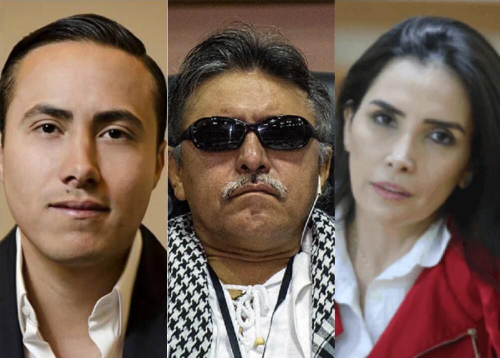Senador Richard Aguilar, Santrich , Aida Merlano AFP.jpeg