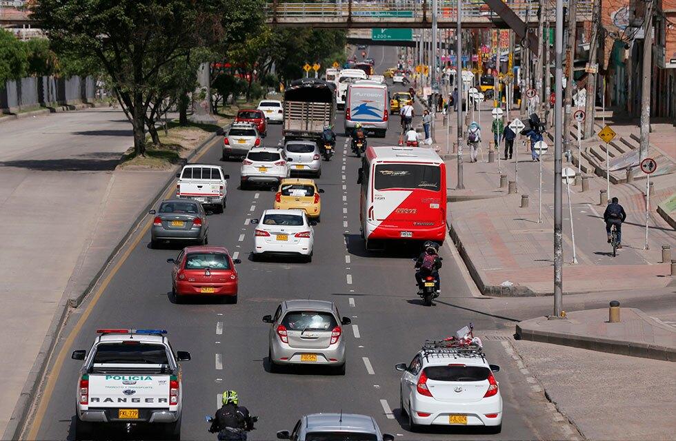 Movilidad Bogotá - pico y placa