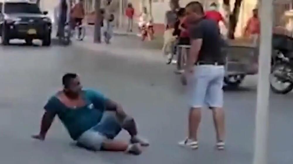 Hombre se enfrentó a ladrón en Santa Marta